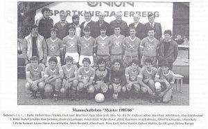 Meistermannschaft 1985-86