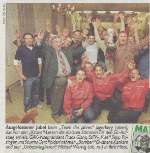 Team des Jahres 2003